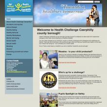 Health Challenge Caerphilly